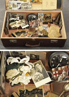 Abandoned Suitcases Reveal Private Lives of Patients   From the 1910s through the 1960s, many patients at the Willard Asylum for the Chronic Insane left suitcases behind when they passed away, with nobody to claim them. After learning of the Willard suitcases, Jon Crispin sought the museum's permission to document each case and its contents.