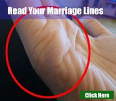 Marriage Line - Love Marriage Or Divorce Palm Reading Love Line, Palm Reading Charts, Marriage Age, Love And Marriage, Hand Lines Meaning, Marriage Lines Palmistry, Divorce, Palmistry Reading, Indian Palmistry