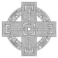 holy spirit mandala part of a christian collection of coloring