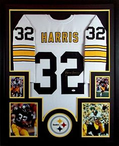 3413b44e6 Franco Harris Framed Jersey Signed JSA COA Autographed Pittsburgh Steelers  at Amazon s Sports Collectibles Store