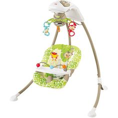 Fisher-Price Rainforest Friends Cradle 'n Swing $98 Walmart