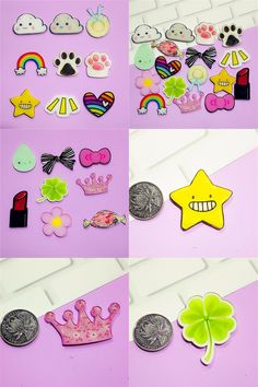 Arts,crafts & Sewing Original Lips English Alphabet Heart-shaped Acrylic Badges Brooch Icons Diy Backpack Icons Badges For Clothing Badge Pin Accessories With The Most Up-To-Date Equipment And Techniques Home & Garden