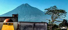 Terrace View #PosadadeSanCarlos #Volcano #Beautiful  #AntiguaGuatemala  #Relax Relax, Central Park, Volcano, Mount Rainier, Terrace, Mountains, Beautiful, Nice, Nature