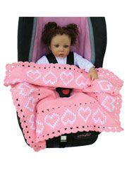New Baby Girl Crochet Blanket Pattern Free Car Seats Ideas Baby Girl Crochet Blanket, Baby Girl Blankets, Baby Afghans, Crochet Baby, Crochet Blankets, Cot Blankets, Crochet Afgans, Crochet Gifts, Baby Car Seat Blanket