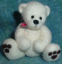 Needle Felting Kit Create a OOAK Needle Felted Bear