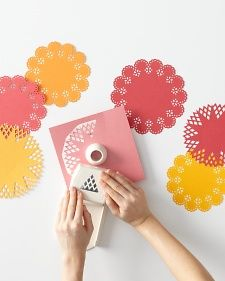 Four of our favorite bloggers offer up crafty ideas using the Martha Stewart Crafts Circle Edge Punch.