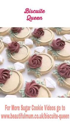 Unique and extraordinary Sugar Cookies Design. Check on our Social Channels for more features Fancy Cookies, Iced Cookies, Easter Cookies, Custom Cookies, Cupcake Cookies, Cupcakes, Elegant Cookies, Cake Decorating Videos, Cookie Decorating