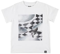 Kinder T-shirts Online Shop - Jongens - Molo Boys Vans, Christmas Shopping, Kids Fashion, Graphic Tees, Short Sleeves, T Shirts For Women, Mens Tops, Bomuld, Design
