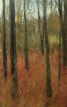 In the Hudson Valley, by Ellen LoCicero, Acrylic on board