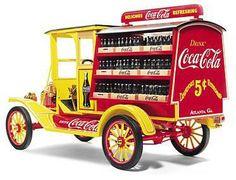 red coca cola trucks | The 1913 Coca-Cola Ford Model T Delivery Truck