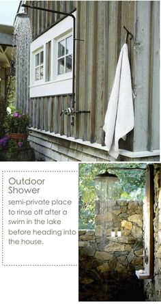 lake cabin decorating ideas | top via pinterest bottom via bridget beari designs