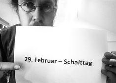 Kuriose Feiertage 29. Februar – Schalttag (c) 2016 Sven Giese-1