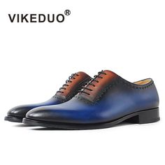 Cheap shoes designer, Buy Quality shoes original directly from China shoes luxury Suppliers: VIKEDUO handmade vintage custom genuine leather shoe luxury party office wedding dress shoes original design mens oxford shoes