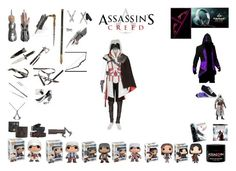 ASSASSINS by mayleneholm on Polyvore featuring Billy Jealousy, Frye and Skullcandy Jealousy, Assassin, Movie, Fashion Outfits, Game, Polyvore, Style, Fashion Suits, Cinema