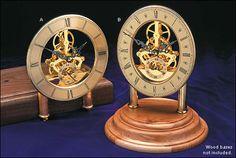 Skeleton Quartz Clock Movement - Woodworking
