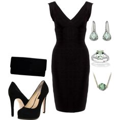 Accessorizing a Black Dress. Every women should have on in their closet