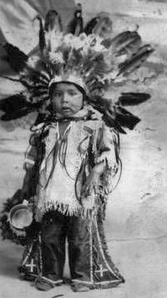 Native American Child (Sioux) Blue Cloud,1880.