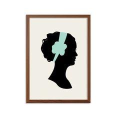 BLAIR WALDORF affiche : Illustration moderne Gossip Girl série télé rétro Art Wall Decor