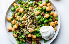 Canned chickpeas are great, especially when served with a side of comfy pants and Law