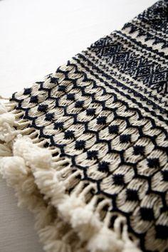 Woven Blanket Pattern...FREAKING GORGEOUS.