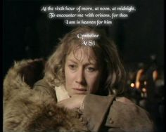 At the sixth hour of morn, at noon, at midnight......  Cymbeline A1 S3