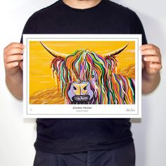 Gordon McCoo - Collector's Edition Prints – Steven Brown Art Steven Brown Art, Steven S, Helvetica Neue, Framed Prints, Art Prints, The Collector, Colorful Backgrounds, Vibrant, Moulding