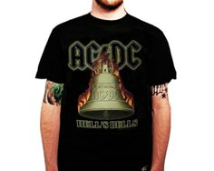 ACDC  HELL\'S BELLS Music  Tshirt-035