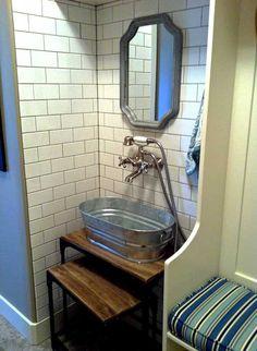 Scrub Tub For A Utility Sink {mud/laundry Room}