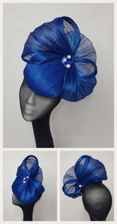Domenica Facinator Hats, Sinamay Hats, Millinery Hats, Fascinators, Headpieces, Fancy Hats, Cool Hats, Occasion Hats, Fascinator Hairstyles