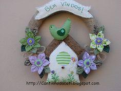 Guirlanda casa de pássarinho verde   Flickr – Compartilhamento de fotos!