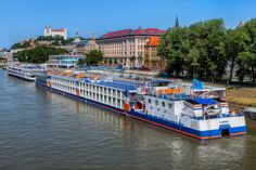 Colorful ships on Danube by Miroslav Petrasko from blog.hdrshooter.net