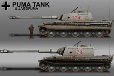 German Puma and Jagdpuma by KevinTinierme