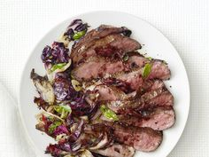 Balsamic Steak With Radicchio Recipe : Food Network Kitchen : Food Network - FoodNetwork.com