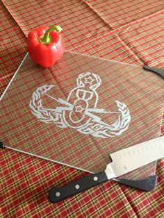 Glass Cutting Board etched with EOD CRAB by UnCorkdArt on Etsy, $20.00 Usmc, Marines, Navy Eod, Army Crafts, Navy Wife, Glass Cutting Board, Military Life, Looks Cool, Troops