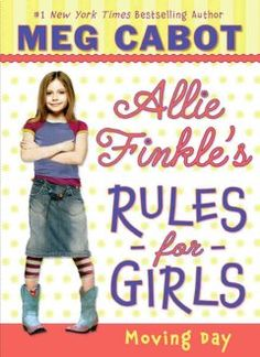 Nine-year-old Allie Finkle has rules for everything and is even writing her own rule book, but her world is turned upside-down when she learns that her family is moving across town, which will mean a new house, school, best friend, and plenty of new rules.