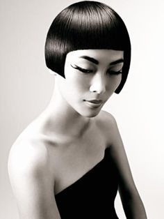 Celebrate the bob with stunning imagery - HJI Work Hairstyles, Creative Hairstyles, Short Bob Hairstyles, Avant Garde Hair, Hair Reference, Hair Shows, Interesting Faces, Love Hair, Hair Art