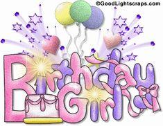 Glitter Birthday Wishes Free Animated Birthday Cards, Animated Birthday Greetings, Birthday Greetings For Facebook, Birthday Gifs, Birthday Bash, Birthday Angel, Birthday Clipart, Birthday Stuff, Card Birthday