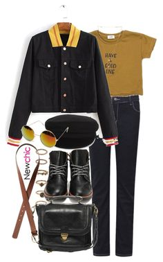 """""""New Chic 7"""" by nikka-phillips ❤ liked on Polyvore featuring Forever 21, Étoile Isabel Marant, Pieces and H&M"""