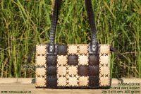 HABA-CO106 wholesale coconut handbag; manufacturer Thailand, exporter