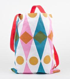 Sukie Diamonds Cotton Tote Bag NZD $39.95