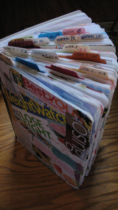 Weight loss journal | Flickr - Photo Sharing! (for inspiration, no instructions)