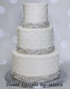 Alison's wedding - Cake by SweetdesignsbyJesica