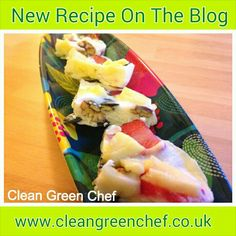 New recipe www.cleangreenchef.co.uk Green Chef, Green Cleaning, New Recipes, About Me Blog, Food, Essen, Yemek, Meals
