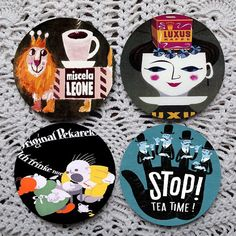 Coffee Tea or   Vintage Advertising Mousepad by Polkadotdog