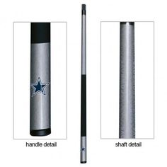 The Dallas Cowboys Pool Cue Stick is perfect for and Cowboys fan and billiards player!