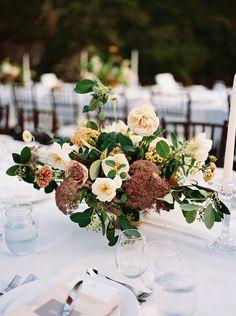 La Tavola Fine Linen Rental: Tuscany White with Topaz Angora Napkins   Photography: Julie Kay Kelly, Event Planning: Ryder Sloan Events, Floral Design: Studio Mondine, Venue: Calistoga Ranch