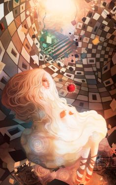 Jie He *.....I'm calling this Abstract Alice