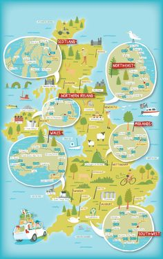 the British Isles from Studio SSS