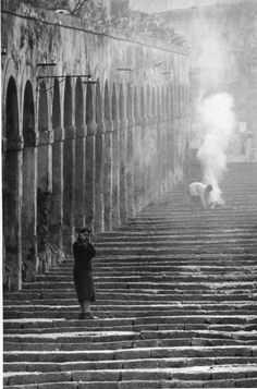 Enzo Sellerio's photograph of Palermo, Sicily, 1960   #TuscanyAgriturismoGiratola