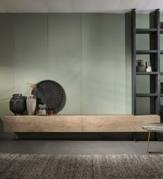 Hangend eiken tv-meubel Op en Del - Woonwinkel Alle Pilat